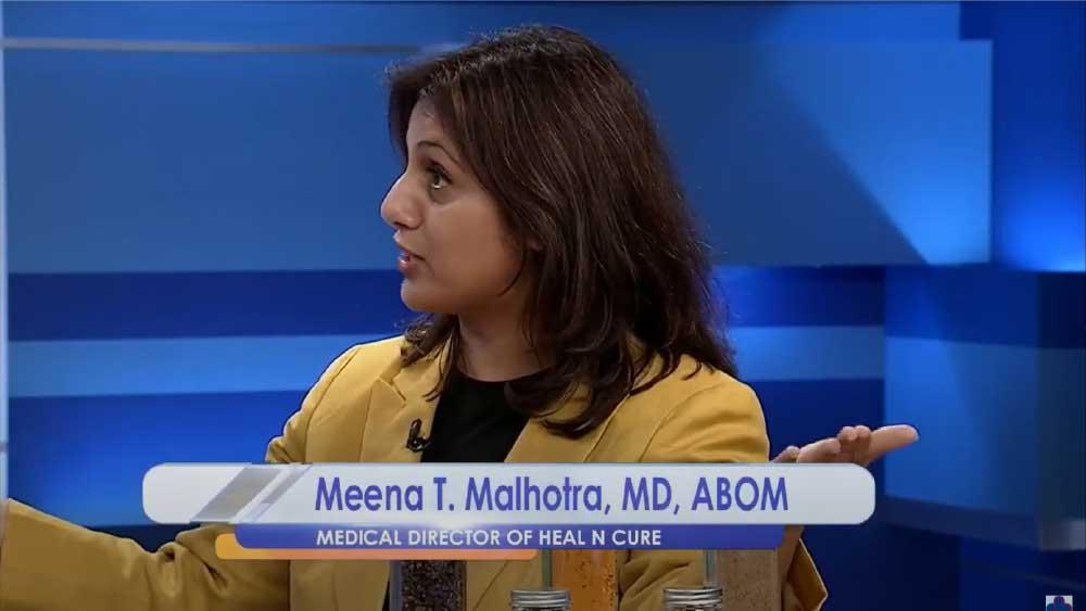 NBC Virginia invites Dr Meena During stroke awareness month